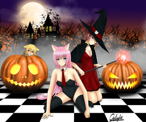 ppshex Halloween contest by Oslight