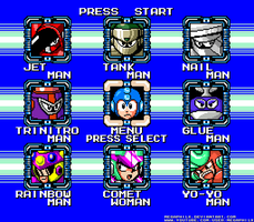 MMUnlimited Final Stage Select by MegaPhilX