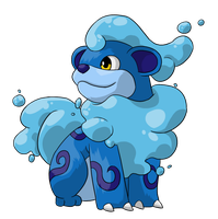 Water Growlithe - New Alola Forms by PokemonConcepts