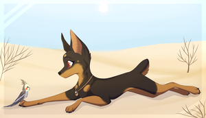 Completed YCH by ElisaWind