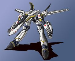 VF-25 Gerwalk by zeiram0034