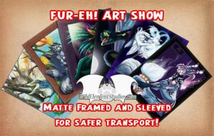 FUR-EH! Art Show by Temrin