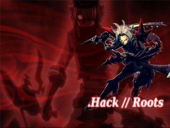 Hack//Roots Wallpaper by blackfilter