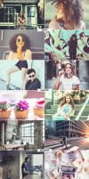 4 IN 1 Photoshop Actions Bundle MAY 2 by ViktorGjokaj