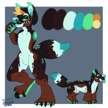 +AUCTION!+ GECKODOG (OPEN!) by IMonsterDrool