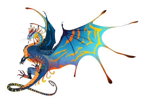 Solstice Dragon by Iopac
