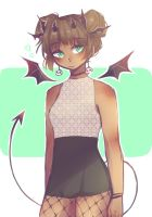 Succubus by strawberry-dove