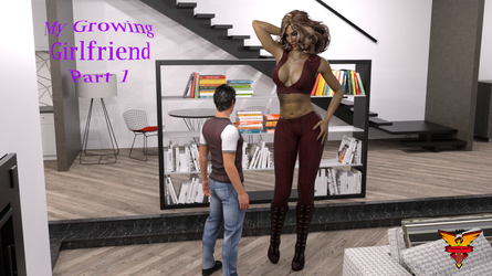My Growing Girlfriend Part 1 (Now On Gumroad!) by MPCreativeArts