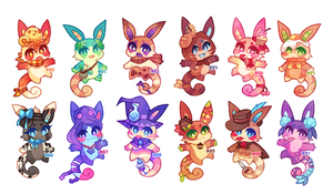 (CLOSED) Charminis Army #6 by scarletscreations