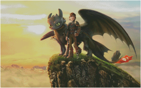 Train Your Dragon 2 screencap for Lilia-Ariana by pinkythepink