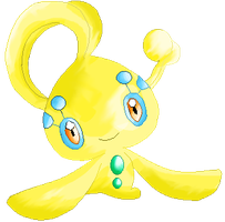 Yellow Manaphy by RougeSulfura