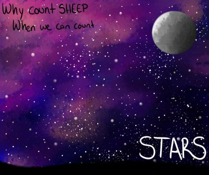 Why Count Sheep When We Can Count Stars by JBubble692