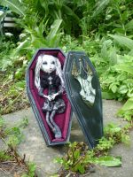 Amzinai in her coffin by SoDarkSoCute