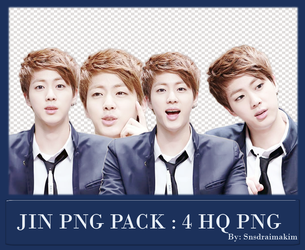 BTS~JIN PNG PACK #8 by SNSDraimakim