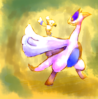 Lugia and Wingull