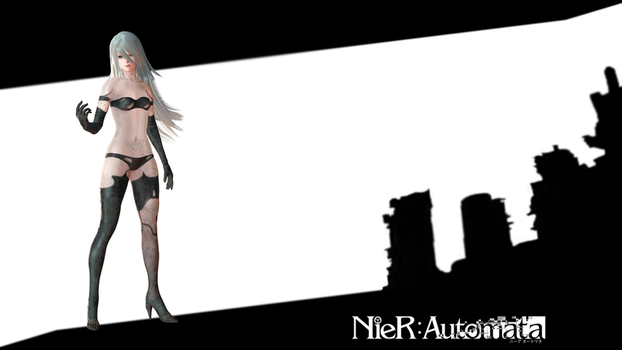 NieR:Automata A2 (censored) by Darentesx