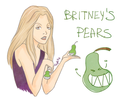 Britney's pears by Tophita