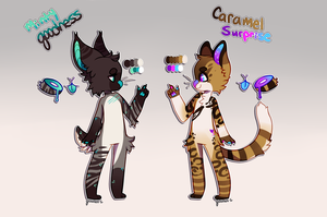 A Hint of Color [Adopts-Open!] by goatlet