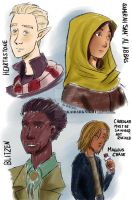 Magnus Chase and the Gods of Asgard casts by KaiDarknight