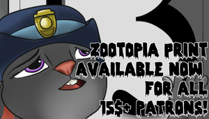 ZOOTOPIA PRINT NOW AVAILABLE! by JHTriune