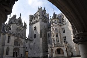 Pierrefonds Castle -  Camelot chapel by MorgainePendragon