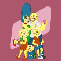 The Simpsons by shnowlan
