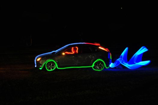 Ford Focus: Tron Edition by SCARECROW1138