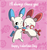 Pokemon Valentines Card by StartistMakesArt