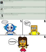 Mixels: Ask my OC's 25, 26 and 27 by Luqmandeviantart2000