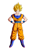 SSJ Son Goku by orco05
