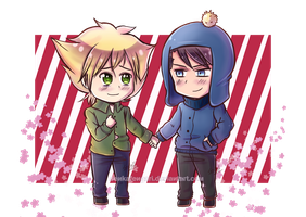 SP: Chibi Creek APH Style by MakotoZhyzn