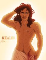 Commission - Khaled by BlueSoulber