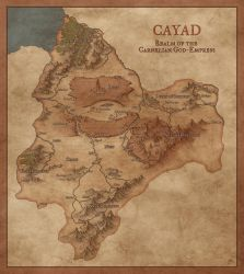Cayad  Realm of the Carnelian God Empress by Jamatra