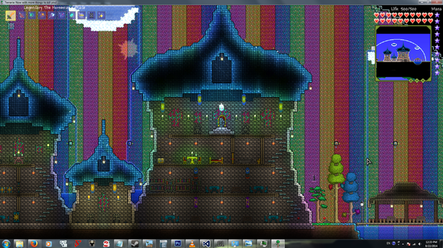 Terraria-05-First Palace Attempt by Unfiltered-N
