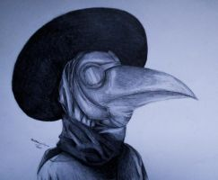 Plague Doctor by ArtistKS