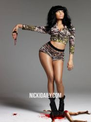 Nicki Minaj by paapaacollages