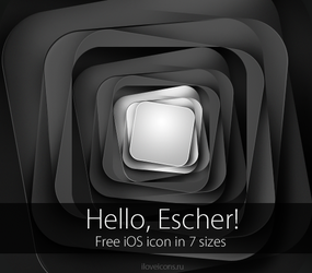 Free iOS icon - Hello, Escher by i-love-icons
