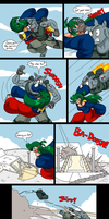 PLANET AFL ROUND 2: Captain Mc Gray Page 2 by SHITFORBRAINSCHAN