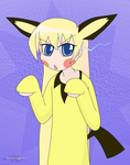 SSBA: Becky as Pichu by Apkinesis