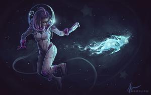 space fART by mrssEclipse