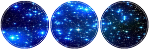 Blue Galaxy by MissToxicSlime