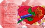 For my Mother by Melinon