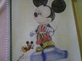 Mickey Mouse KH2 by I-rE-nA-216