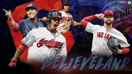 Cleveland Indians Believeland Wallpaper by PavanPGraphics