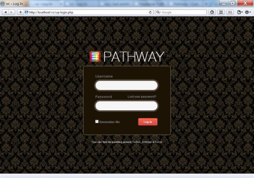Pathway WP - Classic Login by vennerconcept