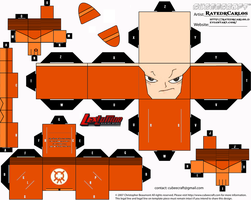 Cubeecraft Lex Luthor Lantern by RatedrCarlos