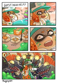 Salmon Run by thegreyzen