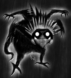 Black Monster by gagaman92