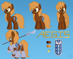 Aegis Reference [COMMISSION] by FacelessJr