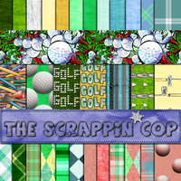 ScrappinCop Golf .PAT by debh945
